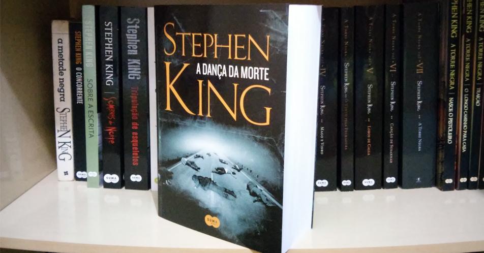 Livro a Dança da Morte, de Stephen King, que foi adaptada para uma nova série de TV