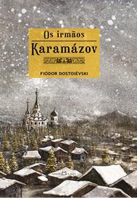 Capa da edição da Martin Claret de Os Irmãos Karamázov