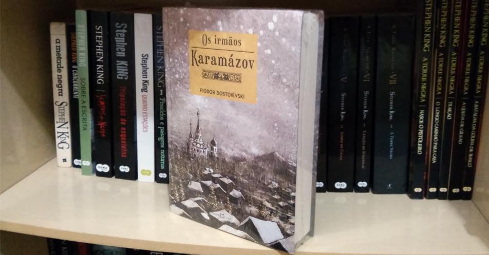 Os Irmãos Karamázov pela Martin Claret em capa dura com tradução de Herculano Villas-Boas