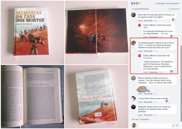 Os Irmãos Karamázov Martin Claret tradução Herculano Villas-Boas