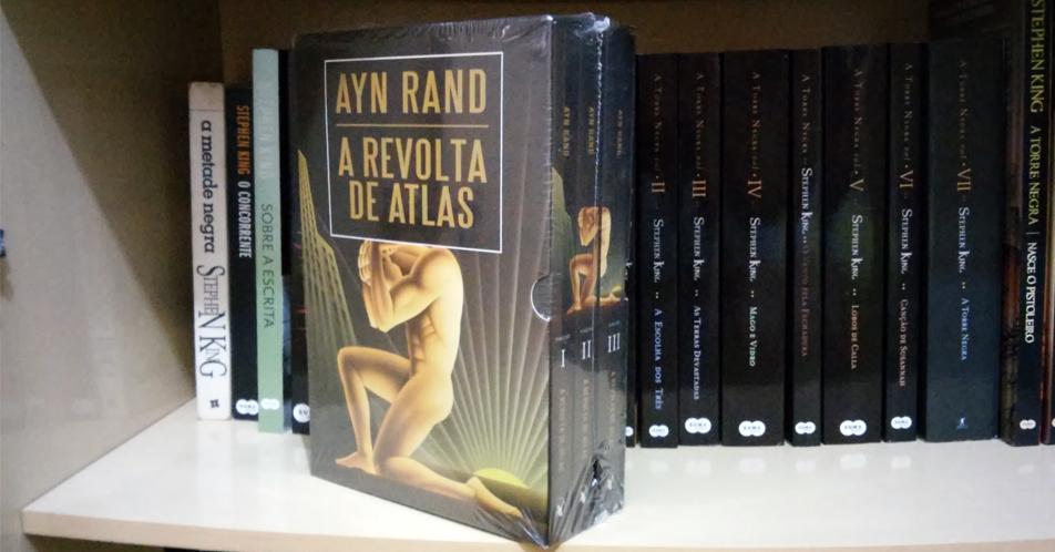 Box A Revolta de Atlas, em três volumes