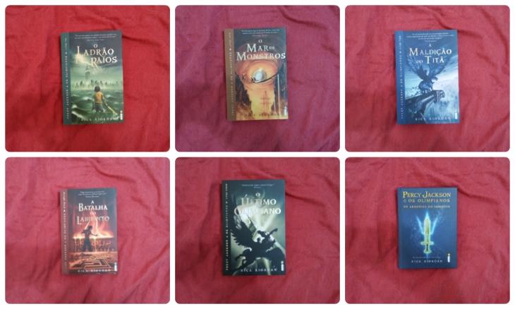 Série Percy Jackson e os Olimpianos