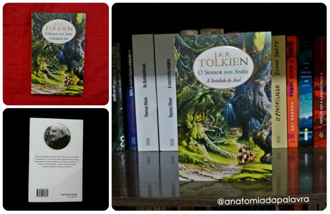 Imagem livro O Senhor dos anéis A sociedade do anel Tolkien Geoff Taylor Martins Fontes