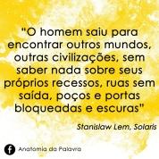 Solaris Stanislaw Lem Frase Quote Aleph