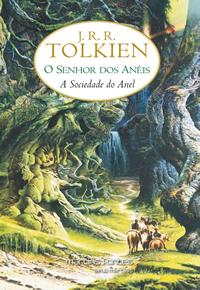 Livro Sociedade Anel Tolkien LOTR