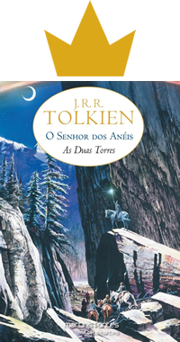 Livro Duas Torres Tolkien Capa