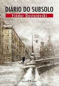 Capa do livro Diário do subsolo de Fiódor Dostoiévski