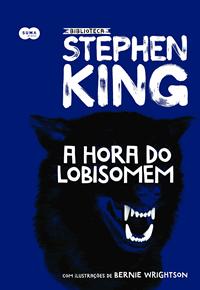 Capa livro A hora do lobisomem, Stephen King