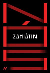 Capa do livro Nós, Ievguêni Zamiátin, Aleph