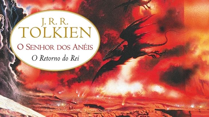 Capa do livro O Retorno do Rei Destaque, editora Martins Fontes, ilustração de Geoff Taylor