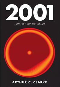 Capa livro 2001 Uma odisseia no espaço, Arthur C Clarke, Aleph