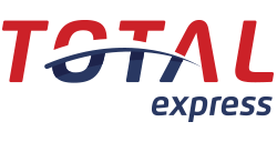 Logotipo da transportadora Total Express, Grupo Abril