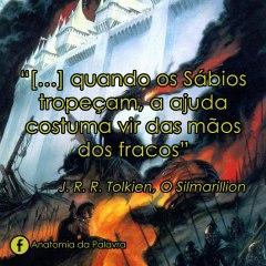 Citação do livro O Silmarillion, Tolkien