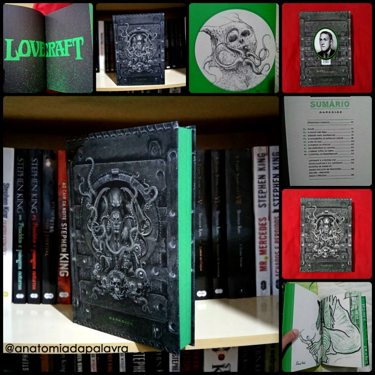 Livro Medo Clássico Lovecraft Miskatonic Edition, DarkSide Books