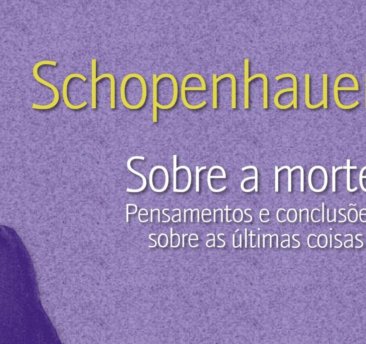 Livro Sobre a Morte Arthur Schopenhauer