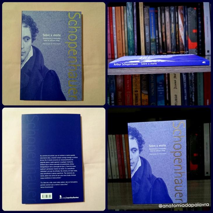 Livro Sobre a morte de Arthur Schopenhauer