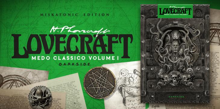 Livro Medo Clássico Lovecraft DarkSide Books