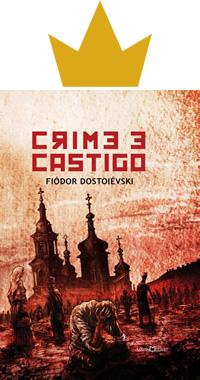 Capa do livro Crime e castigo de Fiódor Dostoiévski
