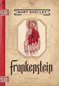 Capa do livro Frankenstein DarkSide Books
