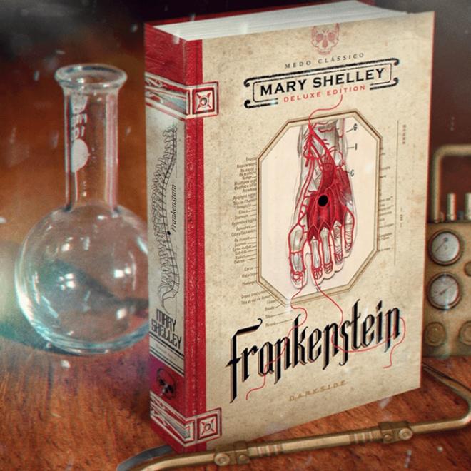 Livro Frankenstein DarkSide Books