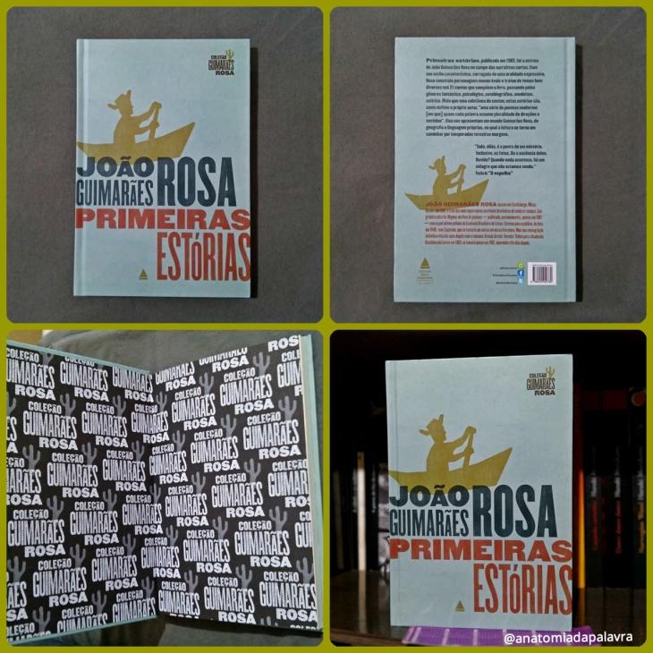 Livro Primeiras estórias, Guimarães Rosa, capa dura