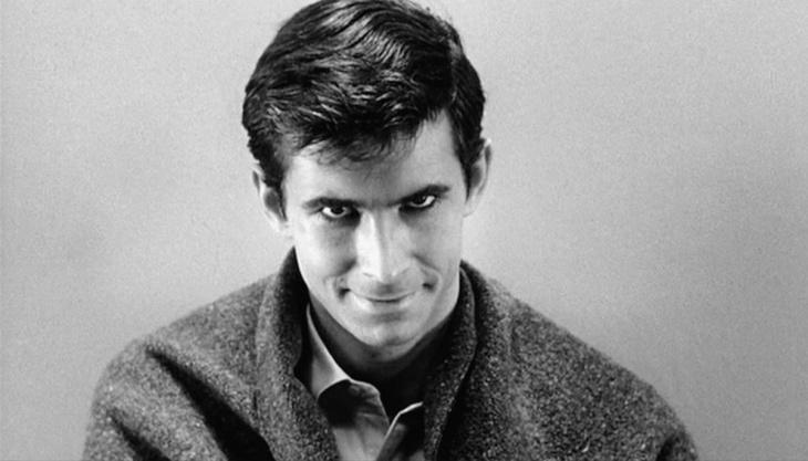 Anthony Perkins em Psicose