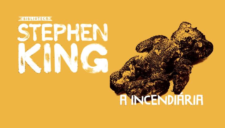 Livro A Incendiária Stephen King nova edição