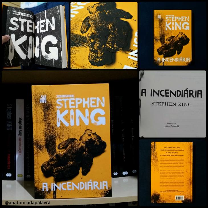 Livro A incendiária, Stephen King, Suma