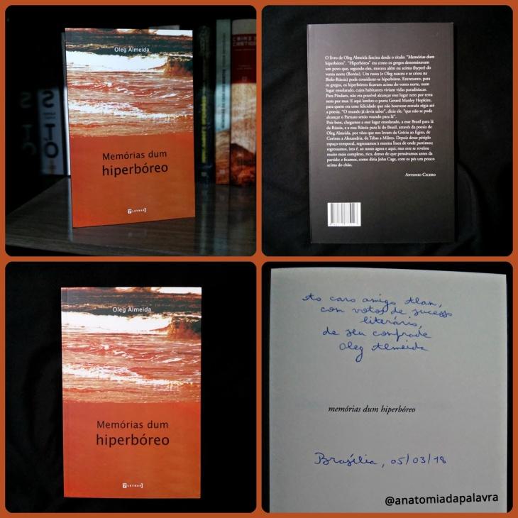 Livro Memórias dum hiperbóreo, Oleg Almeida