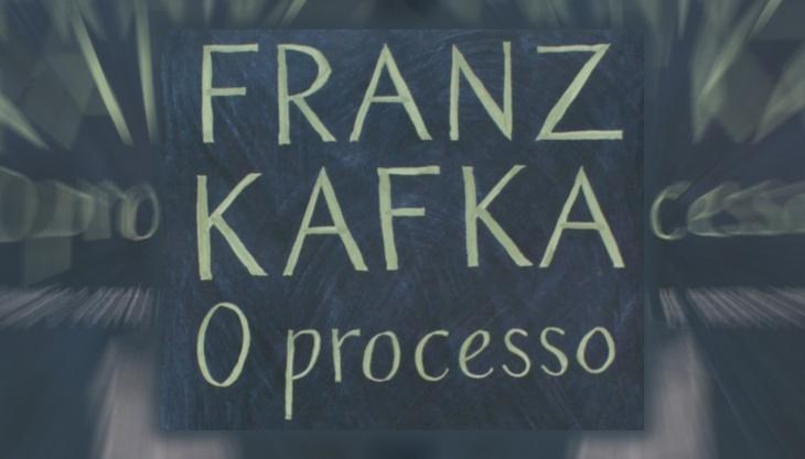 Capa do livro O processo, Kafka, Companhia de Bolso
