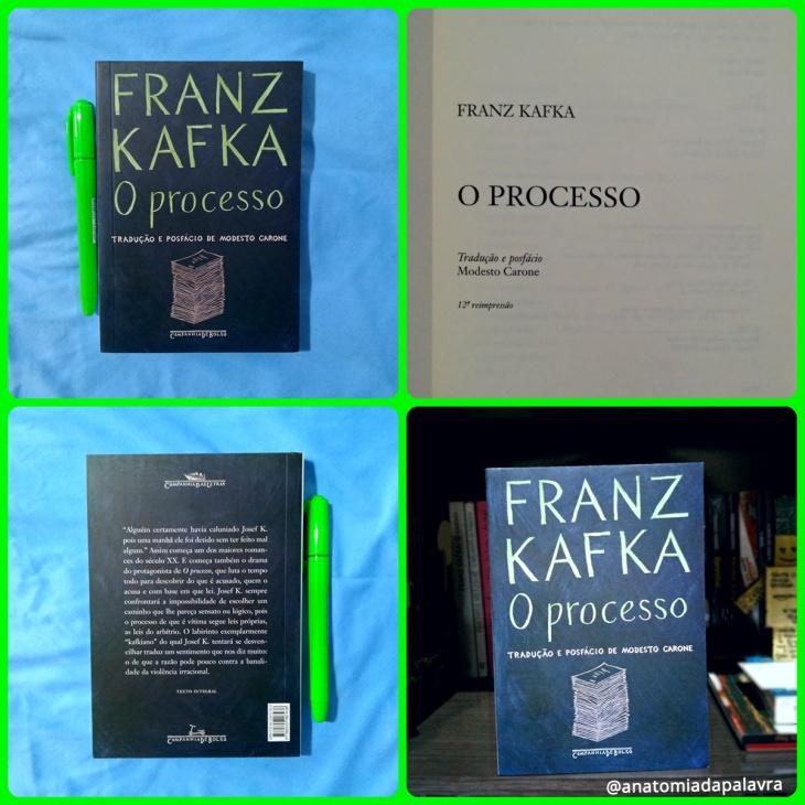 Livro O processo, Franz Kafka, Companhia de Bolso