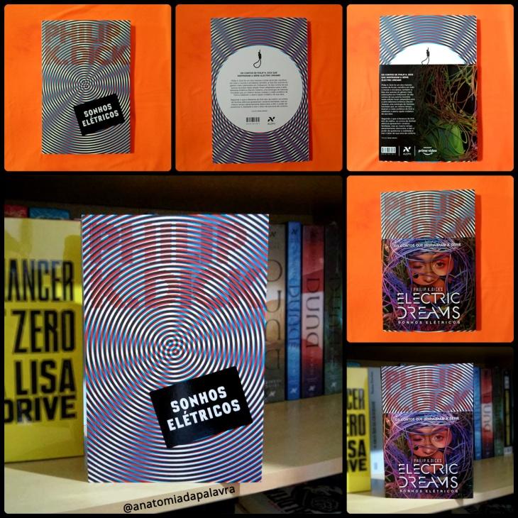 Livro Sonhos elétricos, Philip K Dick