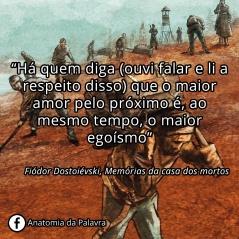 Frase de Fiódor Dostoiévski