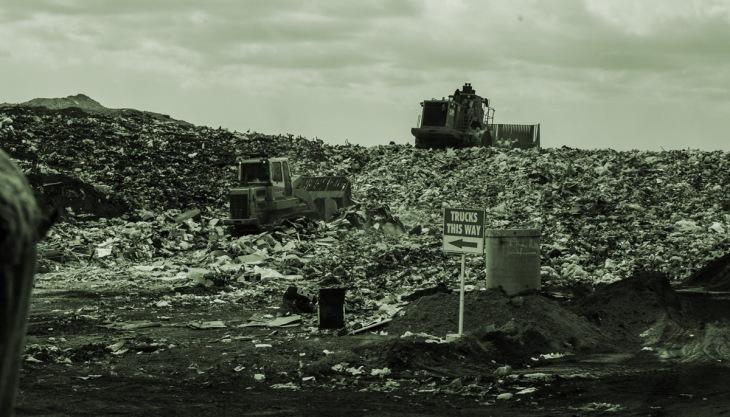 Aterro sanitário, lixo, lixão
