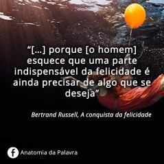 Frases Bertrand Russell Conquista felicidade