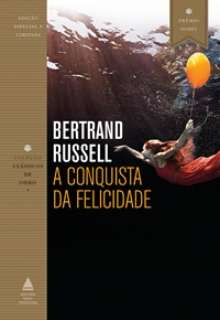 Capa do livro A conquista da felicidade
