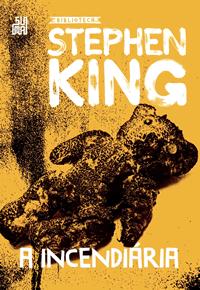 Capa do livro A incendiária, Stephen King