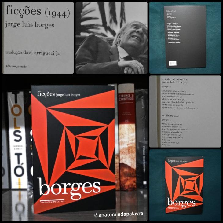 Livro Ficções, Jorge Luis Borges, Companhia das Letras