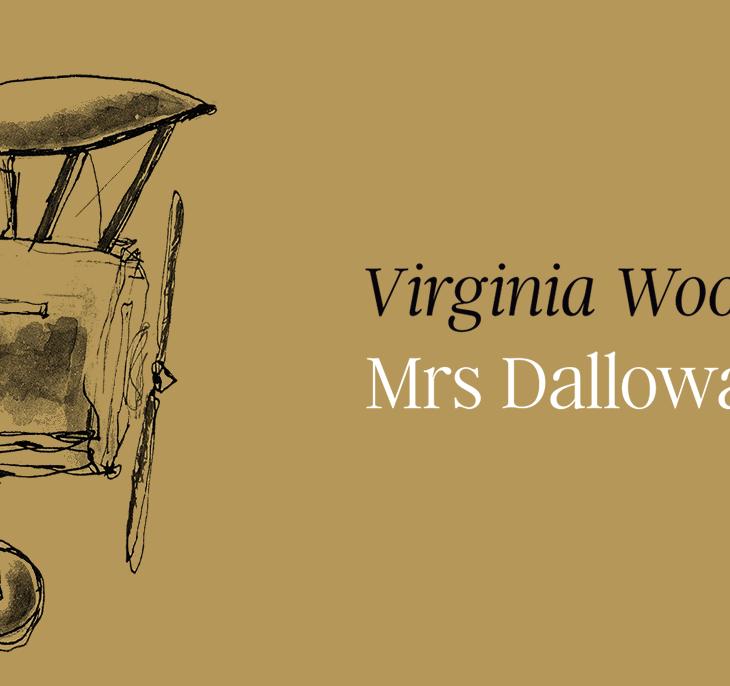 Capa do livro Mrs Dalloway, Autêntica