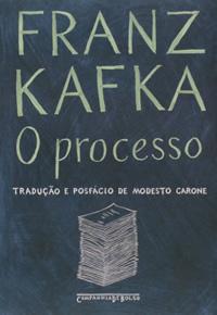 Capa do livro O processo, Franz Kafka