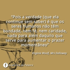 Frase Virginia Woolf Mrs Dalloway