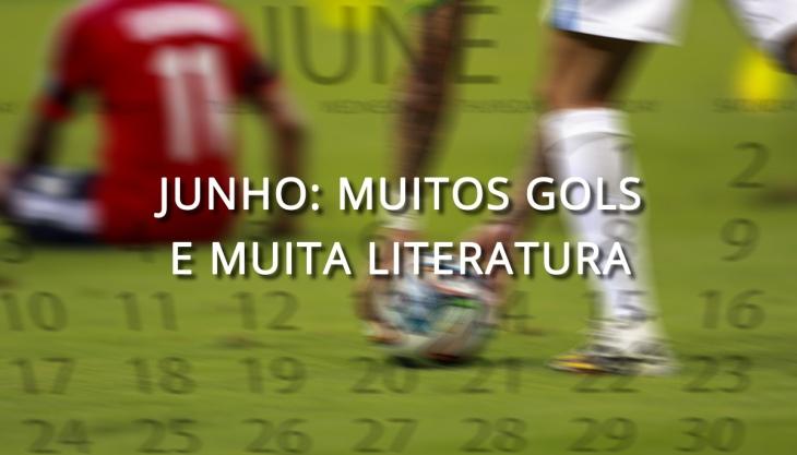 Junho Copa do Mundo Livros Literatura Brasil
