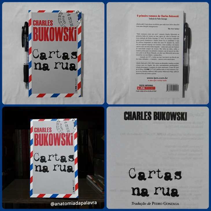 Livro Cartas na rua Charles Bukowski