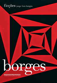 Capa do livro Ficções Jorge Luis Borges