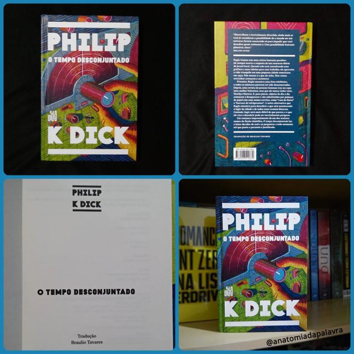Livro O tempo desconjuntado Philip K Dick