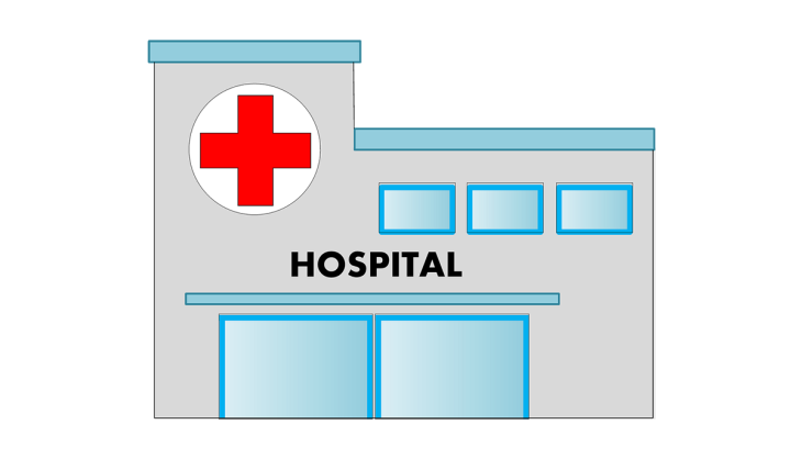 Hospital faxada Psicologia Hospitalar Vetor Desenho PNG