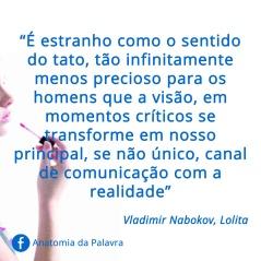 Frase Lolita Vladimir Nabokov Citação
