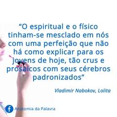 Citação liro Lolita Vladimir Nabokov