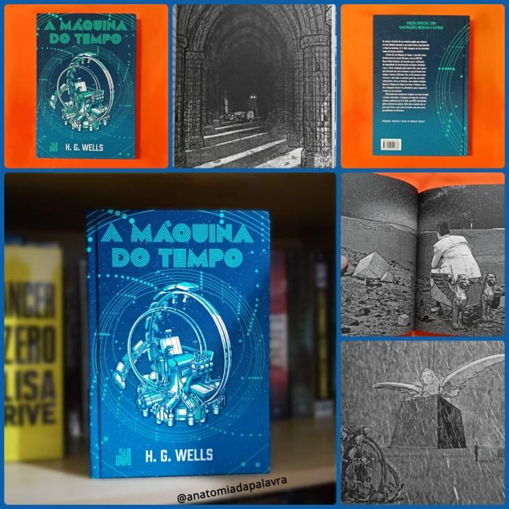 Livro A máquina do tempo Wells Suma