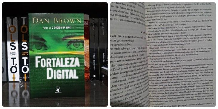 Livro Fortaleza Digital Arqueiro Dan Brown